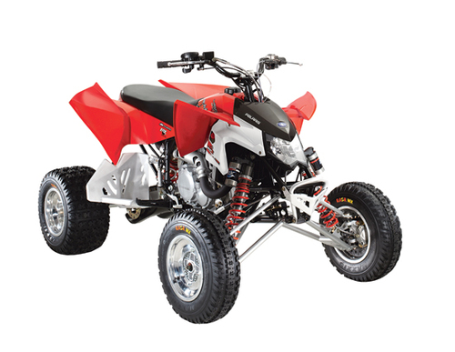 Product picture 2009 Polaris Outlaw 450MXR/525S/525IRS ATV Workshop Repair Service Manual
